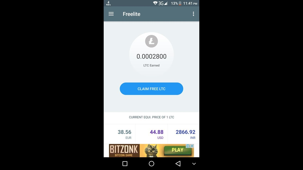 Earn per day 0 01 litcoin free || No investment ||