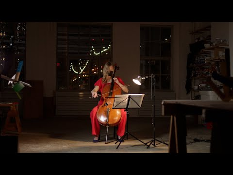McIntire: Footsteps, for cello and fixed media - Arlen Hlusko