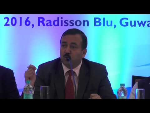 Sh. Sudhanshu Pandey, IAS at NER-ASEAN Business Summit (25-26 Feb'16) by MoCI, GOI & ICSI