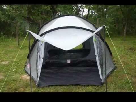Coleman Rocksprings 4 tent movie.wmv & Coleman Rocksprings 4 tent movie.wmv - YouTube