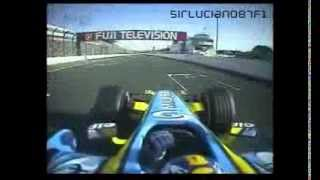 F1 2006 - Japanese GP - Onboard Highlights