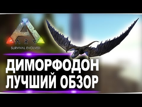 Диморфодон Dimorphodon в АРК  Лучший обзор приручение, разведение и способности  в ark