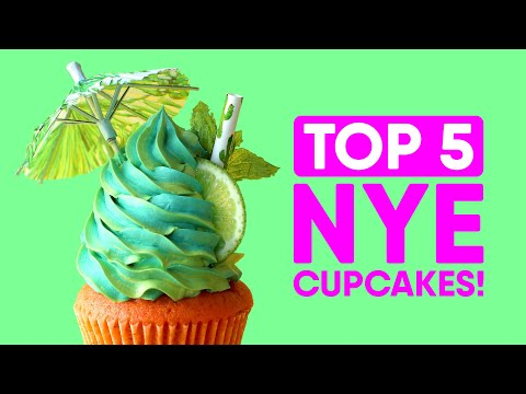 TOP 5 Cupcakes To Make For New Years Eve! - The Scran Line