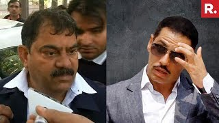 Robert Vadra Aide Questioned By ED Over Property Deal