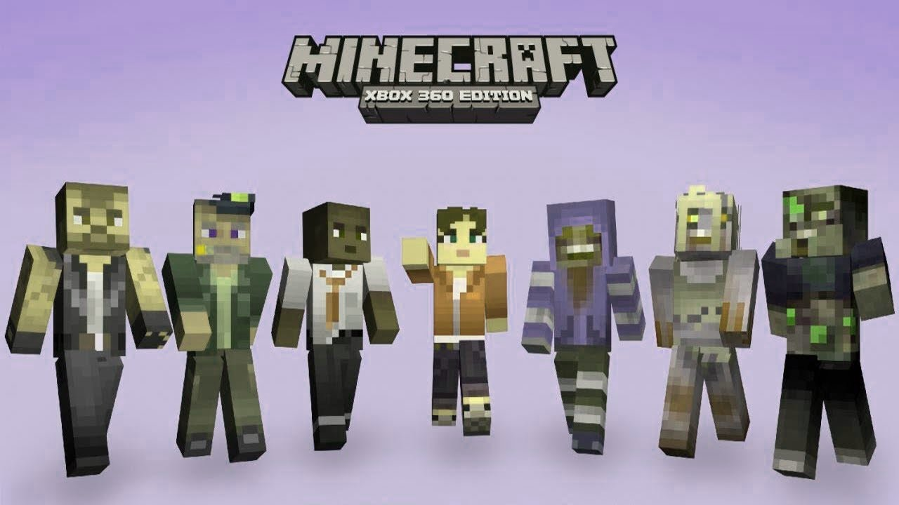 Minecraft - Xbox 360 Edition Mods - Custom Skins - WiZARD ...