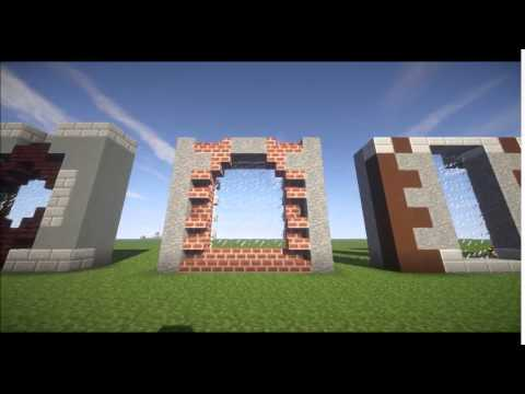 20 Window Ideas-Minecraft Lets Build! Detail - YouTube