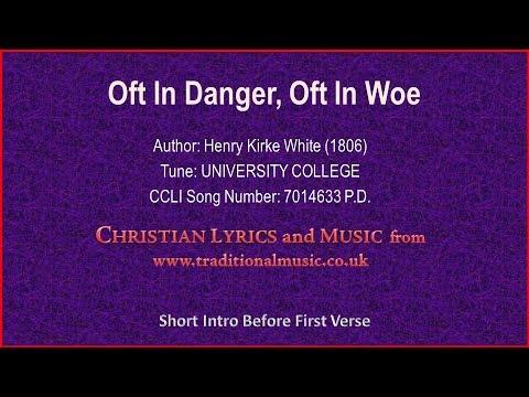 Oft In Danger, Oft In Woe(MP533) - Old Hymn Lyrics & Music