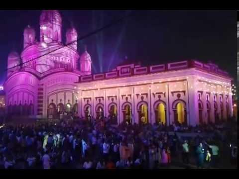 Maa Kali Aarti - Dakshineswar Kali Temple - Lighting ...