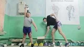 Гиревой спорт. Рывок 12кг:5/5минут.9лет
