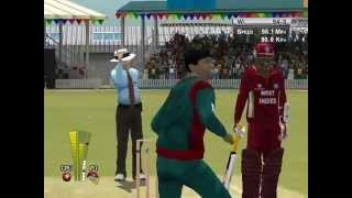 Brian Lara Cricket 2005 : World Cup Tournament w West Indies , Match 3 : Bangladesh