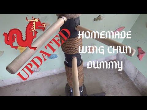 UPDATE - Homemade Wing Chun - Mook Jong Dummy