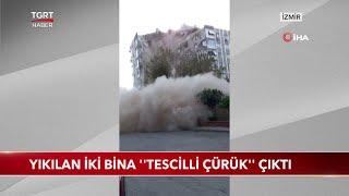 İzmir'de Yıkılan İki Bina