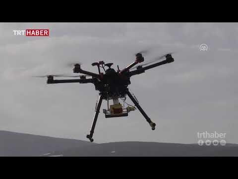 Konyalı bir grup mühendis, Tarımsal İnsansız Hava Aracı üretti.
