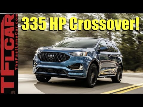 2019 Ford Edge ST A Faster Way to Get Your Groceries