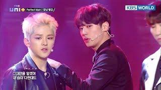 Uni+b's Team Red - Perfect Man  Original : Shinhwa   The Unit/2018.01.11