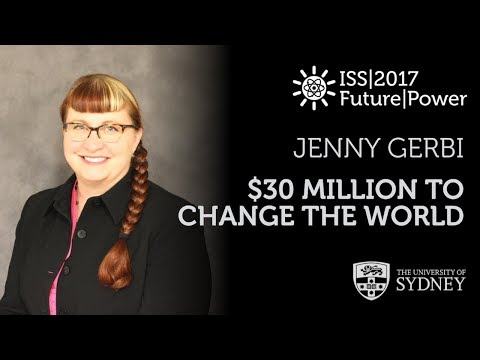 Thirty Million Dollars To Change The World