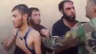kurdish peshmarga.. catching 3 ISIS rats