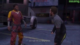 GTA 5 - PS3 - Strangers and Freaks Mission #14 - Targeted Risk [100% - Gold Medal]