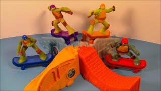 2013 TEENAGE MUTANT NINJA TURTLES SET OF 8 McDONALD