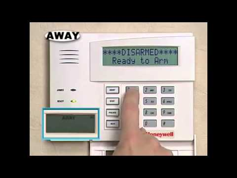 Honeywell 6160 Alphanumeric Keypad User Guide