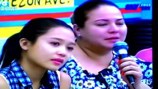 miho and qm sing miho s mom s fave song 10062015