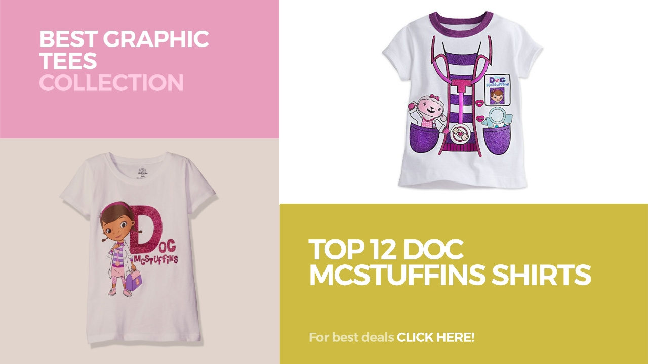 091cc6ff02e9 Top 12 Doc Mcstuffins Shirts    Best Graphic Tees Collection - YouTube