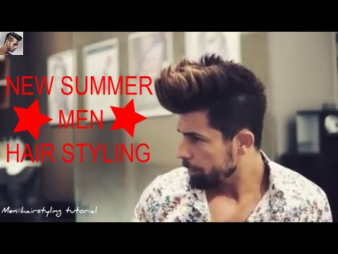 New Summer Men Hair Style 2017 Fashion Inspiration Good Look