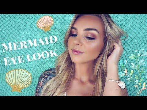 NEW be a mermaid & makeup waves tutorial   tarte talk