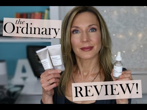 The Ordinary ~ Skincare Review