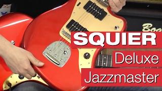 Squier by Fender Deluxe Jazzmaster (Tremolo) RW CAR E-Gitarren-Review von session