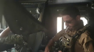 Battle of Raqqa combat footage - observing USAF obliterating ISIS positions