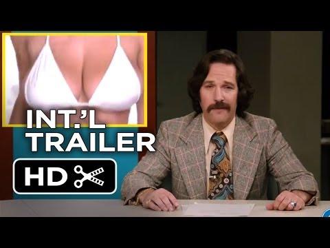 Anchorman 2: The Legend Continues International TRAILER 1 (2013) - Will Ferrell Movie HD