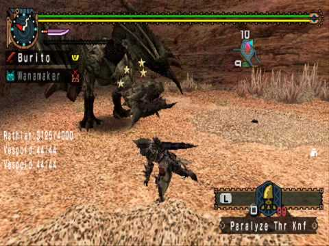 Monster Hunter Freedom Unite Cheats (Codes Included)