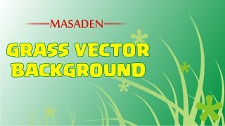 How to Draw simple grass vector background in Coreldraw