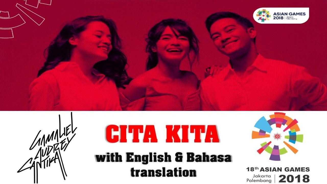 Gac Cita Kita Color Coded Lyrics With English Indonesia Translation Youtube