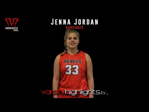 Jenna Jordan Basketball Highlights (F/C | Saddle River Day School | 2019)