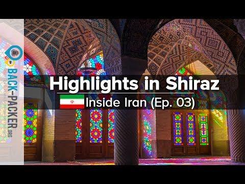 Diverse Shiraz - Top Things to do & Tips (Inside Iran, Episode 03)