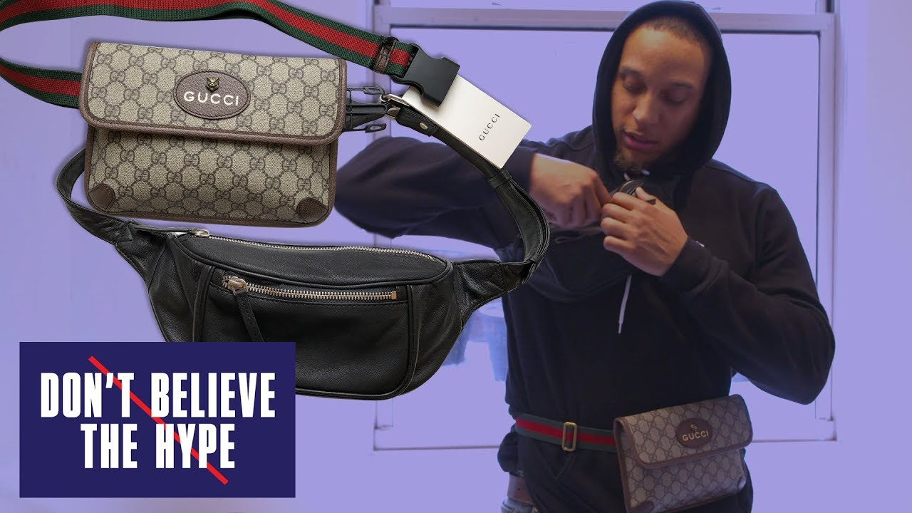 f1f37306cac Gucci Fanny Pack: Don't Believe The Hype