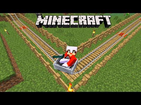 Minecraft: EQUIPE SURVIVAL - O TRILHO Para O CELEIRO!!! #54