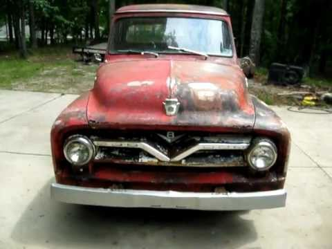 1955 Ford F-100 Good Project Truck - YouTube