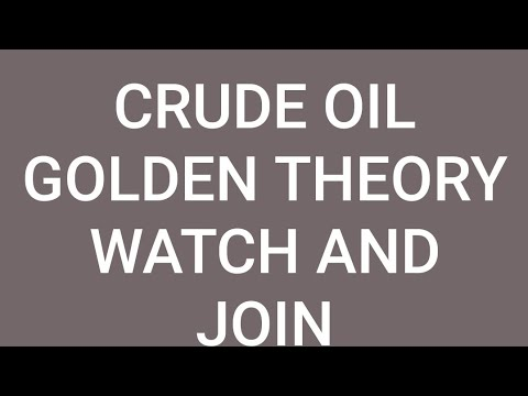 Crude Oil Golden Theory | Earn 10 to 20 Point (and more)in any types of market