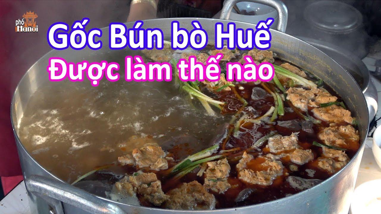 Bún Bò ở Huế ăn ở đâu đúng vị và được làm như thế nào #hnp