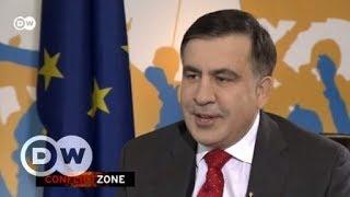 Самое острое интервью Саакашвили: о Порошенко и агентах Кремля - Conflict Zone на русском