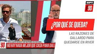 ¿Por qué #Gallardo decide quedarse en #River? ¡Solo una razón lo puede mover del Millonario!