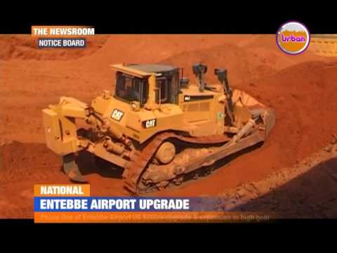 Entebbe airport upgrade