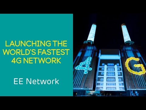 EE 4G Network: EE launches the world's fastest 4G network