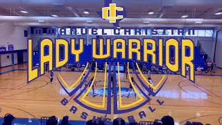 Lady Warriors⚔️ vs. Chisholm Trail Academy Lady Blazers ⚫️🔵 Highlights