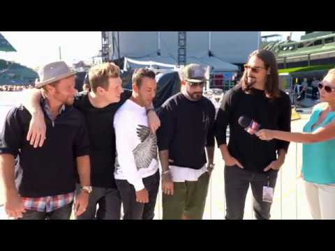 2017 Backstreet Boys CMT Hot 20 Countdown Interview