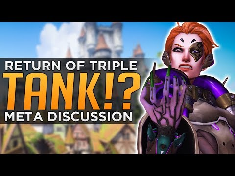Thumbnail: Overwatch: RETURN of Triple TANK!? - Moira Meta Discussion