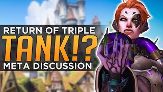 Overwatch: RETURN of Triple TANK!? - Moira Meta Discussion